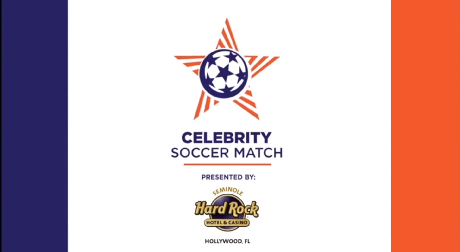 Celebrity Soccer Match